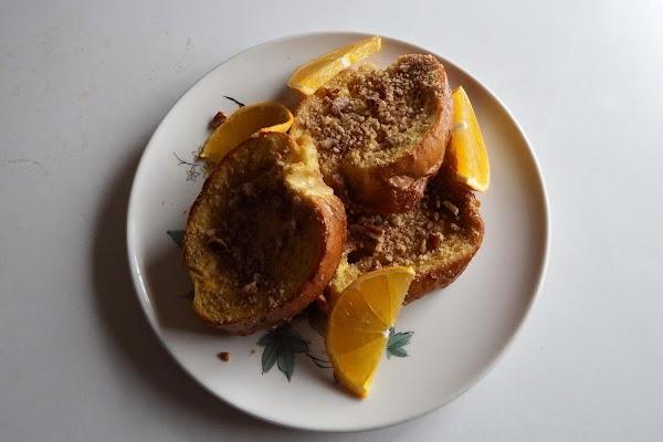 Baked Orange Pecan French Toast Recipe