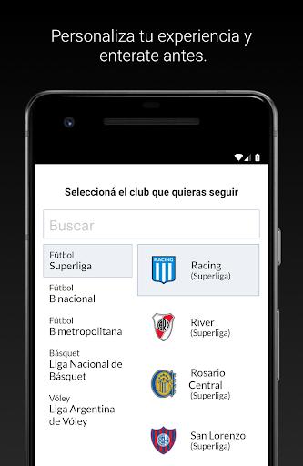 tyc sports play screenshot 2