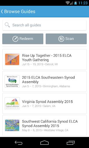 ELCA Organizations Events