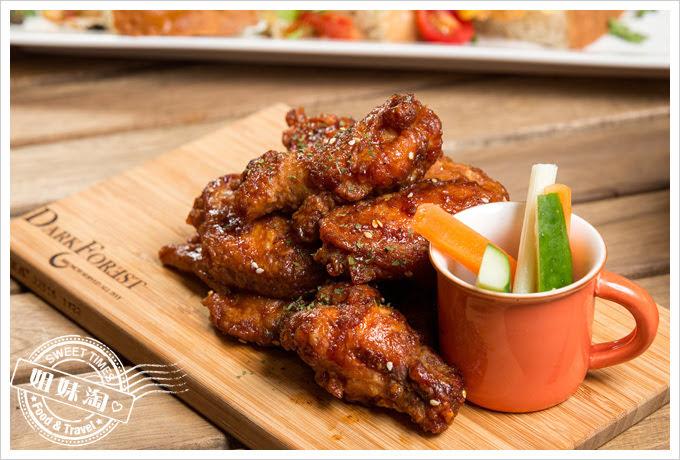 森夜早午餐餐廳達拉斯BBQ雞翅