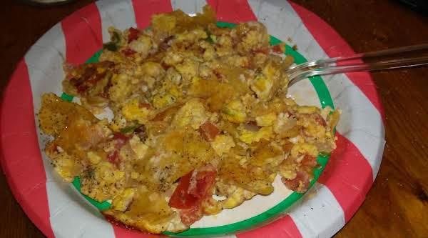 Tex Mex For Breakfast!  Buenas Dias!