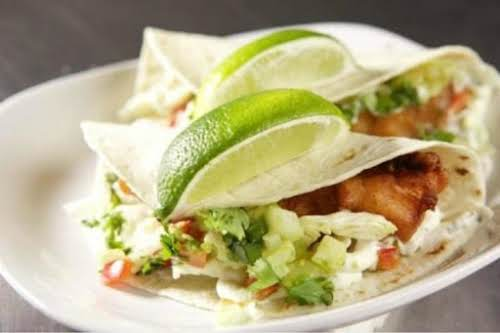"Fort Worth Fish Tacos ""Terrific take on fish tacos. We loved it...."