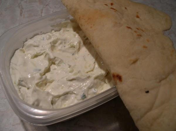 Cucumber Dill Dip Tzatziki American Style Recipe