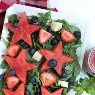Watermelon Strawberry Mint Salad Recipes