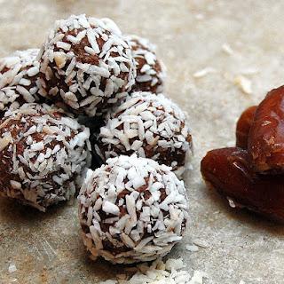 Quinoa Date Nut Truffles