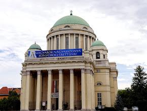 Photo: A  600 m²-es templom alapkövét  1924-ben tették le  és 1931. október 8-án, a Magyarok Nagyasszonya ünnepén szentelték fel.