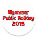 Myanmar Public Holiday 2015 icon