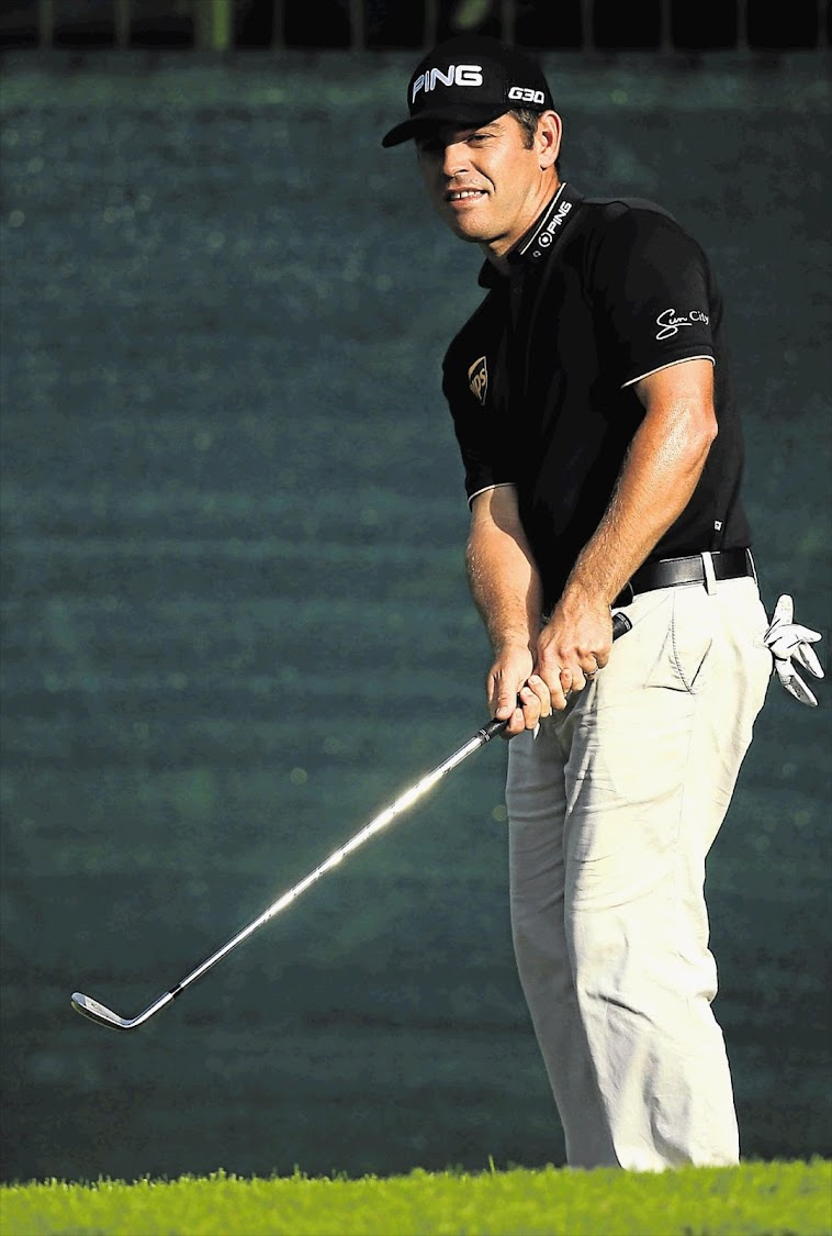 Louis Oosthuizen. File photo.