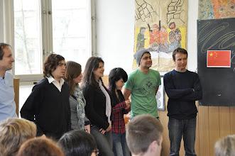 Photo: Sebastián (Argentina), Gina (Germany), Ana (Brazil), Rong (China), César (Costa Rica), Aleksandar (Serbia).