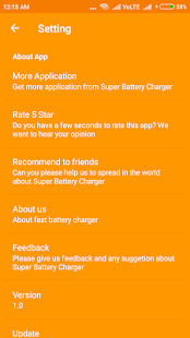Super battery charger for PC-Windows 7,8,10 and Mac apk screenshot 5
