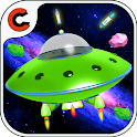 Galaxy Space war icon
