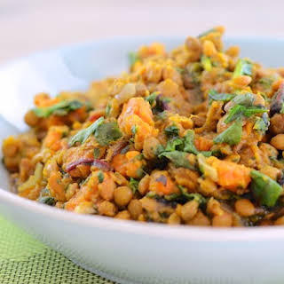 Vegetarian Slow Cooker Lentils.