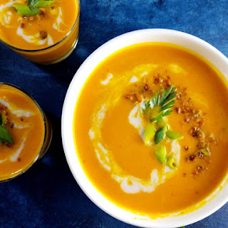 Curried Carrot Coconut Bisque.