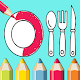 kitchen coloring book for kids Download on Windows