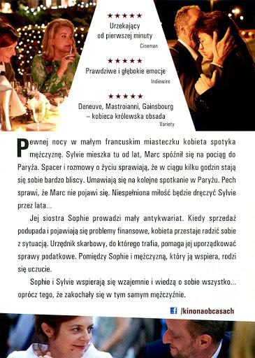 Tył ulotki filmu '3 Serca'