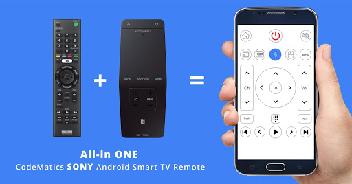 Download CodeMatics Sony TV Remote - Android TV Remote Apk Latest