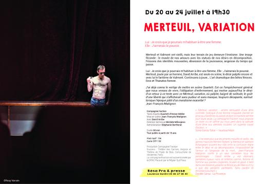 Merteuil, variation
