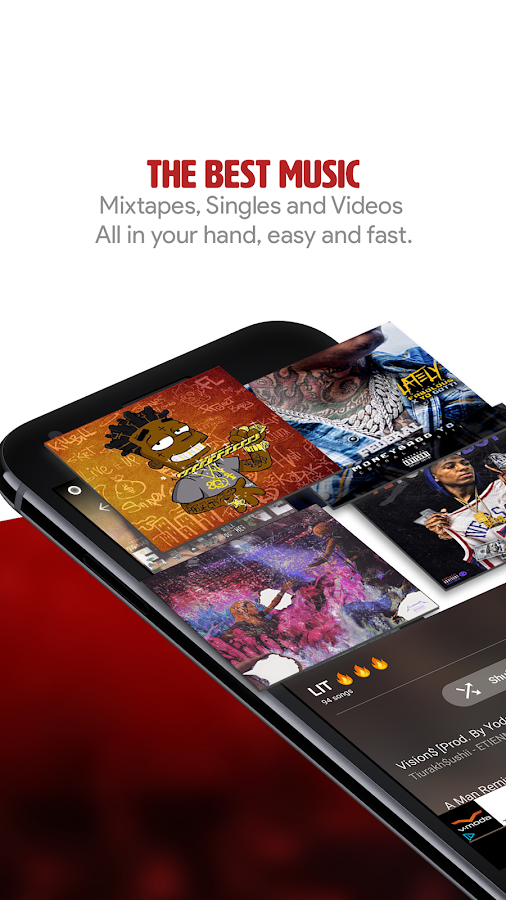 My Mixtapez Free Music & Audio- screenshot