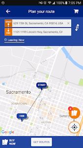 RideSacRT screenshot 1