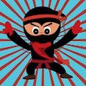 Subway Ninja free run- Flippy jump rush icon