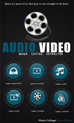 Audio Video Mixer Cutter - screenshot