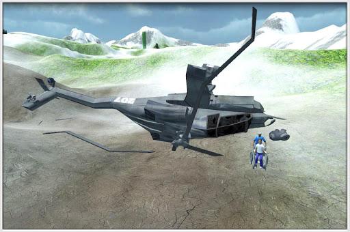 AirAmbulance Earthquake Rescue