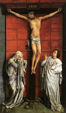 Photo: Christ on the Cross with Mary and St John, c. 1460
