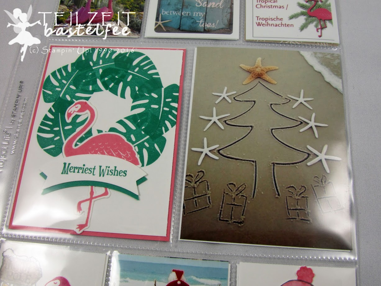 Stampin' Up! – In{k}spire_me #277, Christmas Special, Weihnachtsspecial, Weihnachten, Project Life, Layout, Pop of Paradise, Christmas Magic, Ausgestochen weihnachtlich, Cookie Cutter Christmas, Stanze Bannerduo