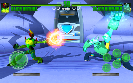 Hero Alien Force Arena Attack Mega Transform War apkmr screenshots 5
