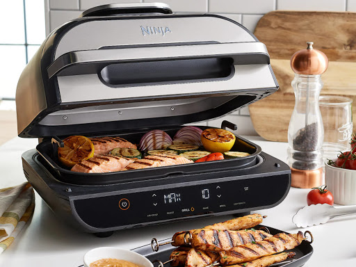 Ninja Foodi XL Indoor Grill & Air Fryer w/ Probe + Skewer Set Only $184.98 Shipped (Regularly $300)