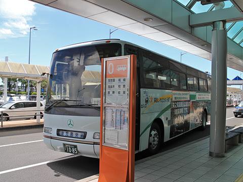 鹿児島交通「鹿児島空港~加世田・枕崎線」 1085 鹿児島空港停車中