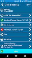 Screenshot of A1 Ace Taxis (Somerset)