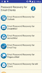 Email Password Recovery Help - náhled