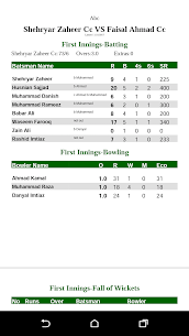 Cricket Scorer 7