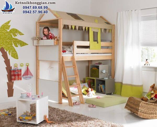 thiết kế phòng ngủ cho bé dễ thương
