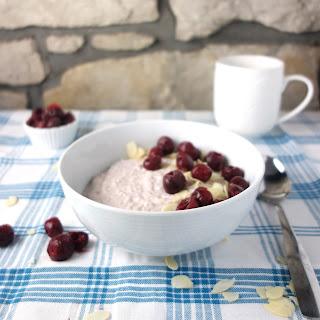 Cherry Bakewell Overnight Oats Recipe