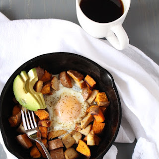 Sweet Potato Breakfast Skillet {for 1}