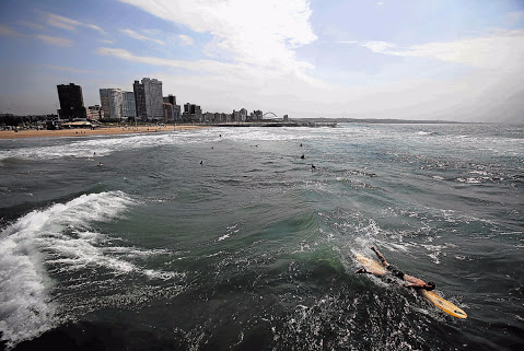 The Durban beachfront. File photo.