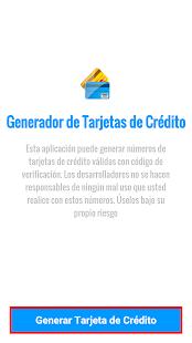 Generador Tarjetas de Crédito - náhled