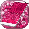 Pink Cheetah For GO Keyboard