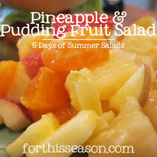 Pineapple & Pudding Fruit Salad