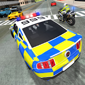 Tải Police Car Driving vs Street Racing Cars miễn phí