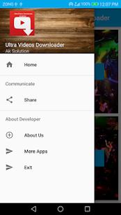 Ultra Videos Downloader - náhled