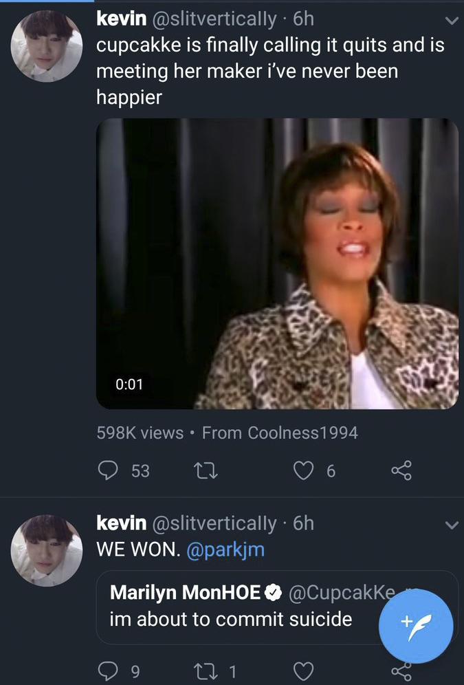 cupcakke kpop tweets