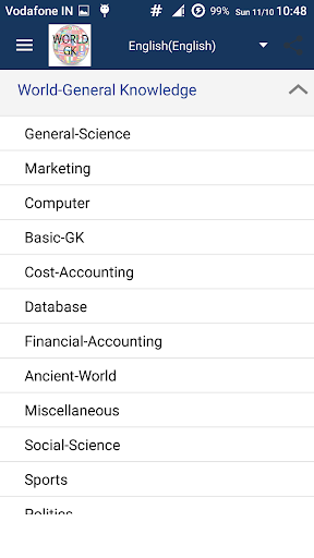 General Knowledge - World GK 16.0.2 screenshots 15