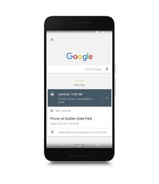 The Google app