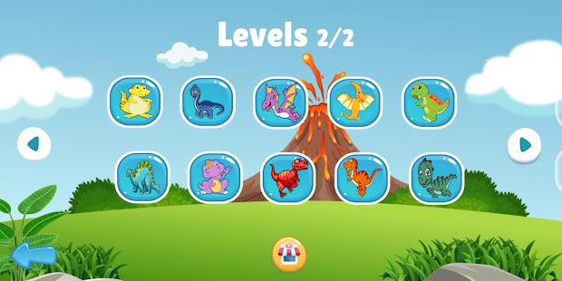 Download Dinosaur Puzzle : Jigsaw kids Free Puzzles game For PC Windows and Mac apk screenshot 3