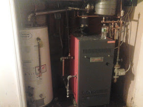 Photo: Another Boiler and Water Heater in Far Rockaway, NY after Hurricane Sandy