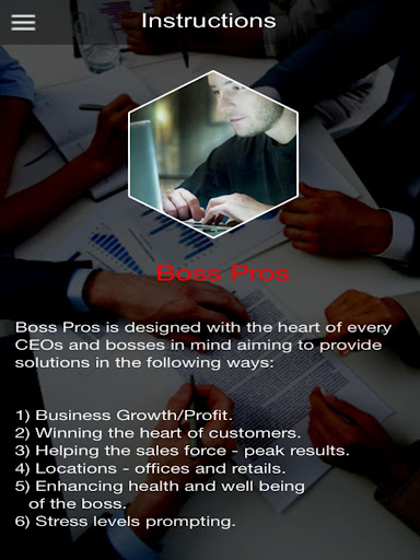 Boss Pros  screenshots 2