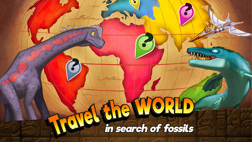 Dino Quest - Dinosaur Discovery and Dig Game apktreat screenshots 2